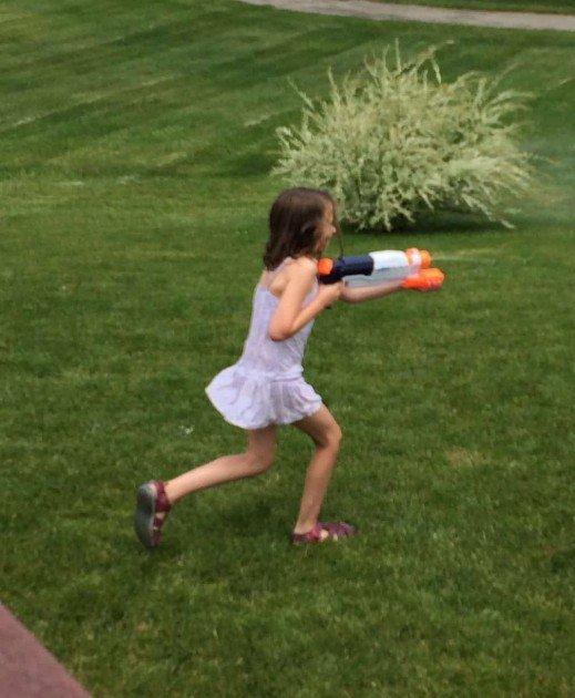 Water Guns at Home