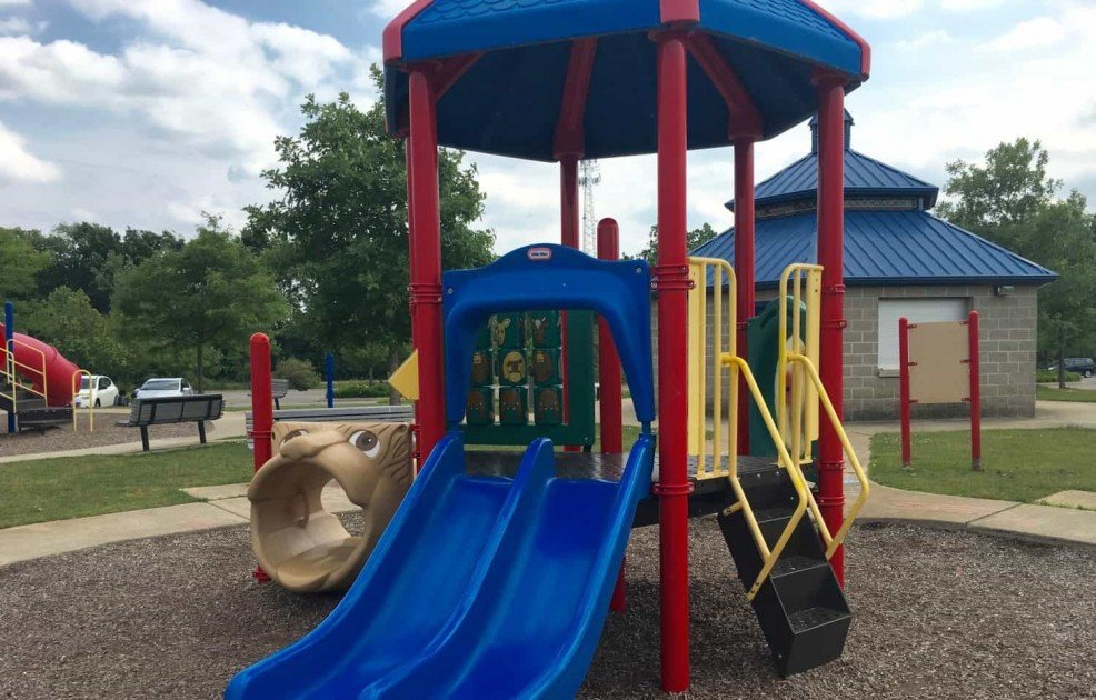Lillie Park Playground - Toddler Play Structure