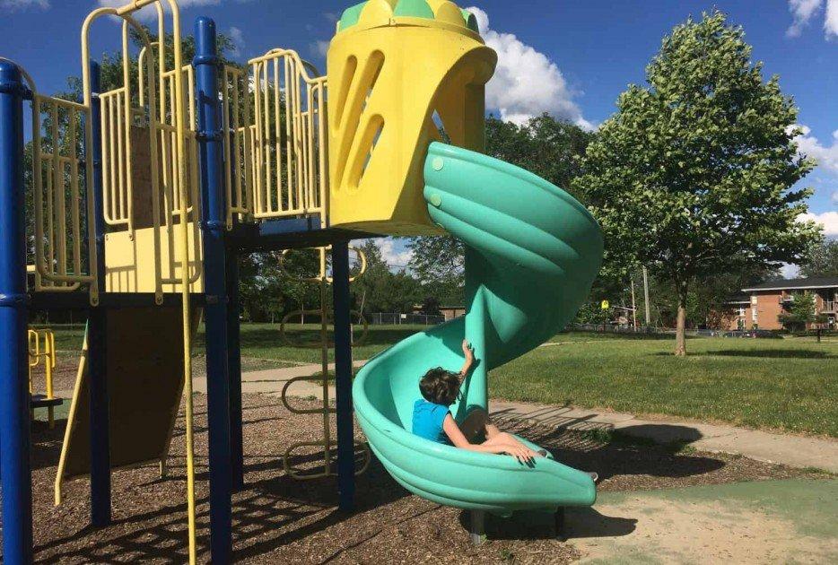 Winchell Park - Twisty Slide