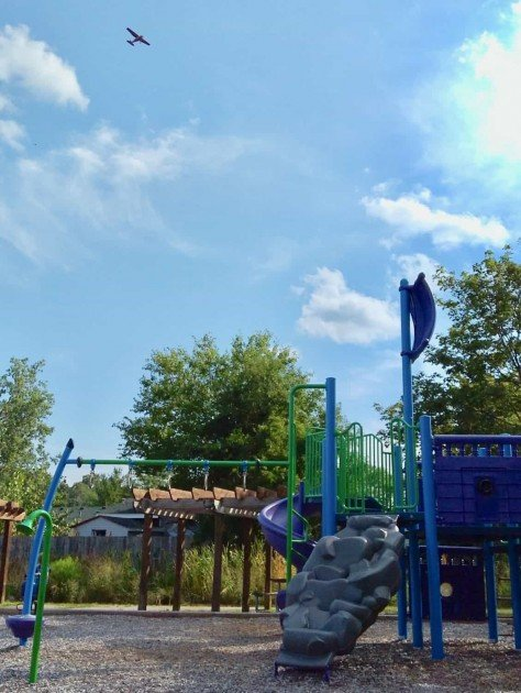 Arbor Oaks Playground Profile - Small Planes Fly Overhead