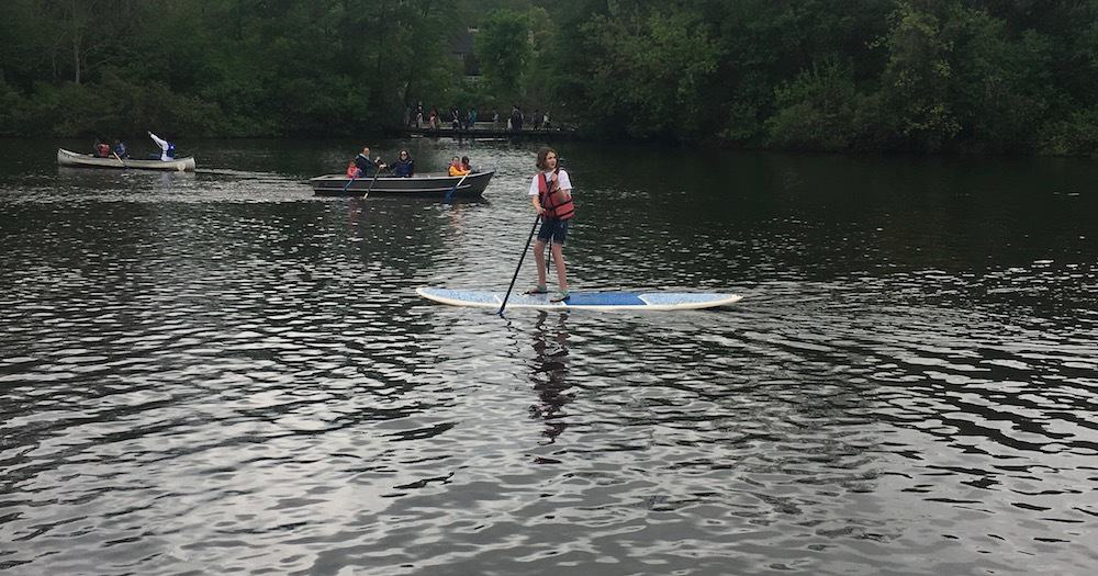Huron River Day - Stand Up Paddleboarding