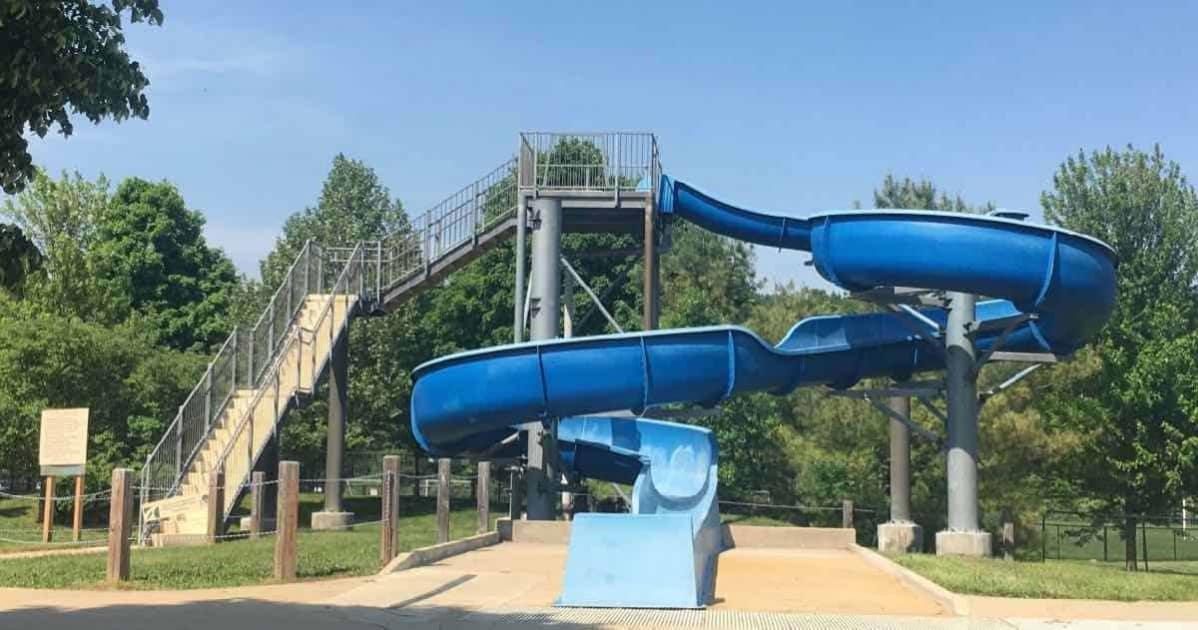 Ann Arbor Fuller Park Pool - Slide