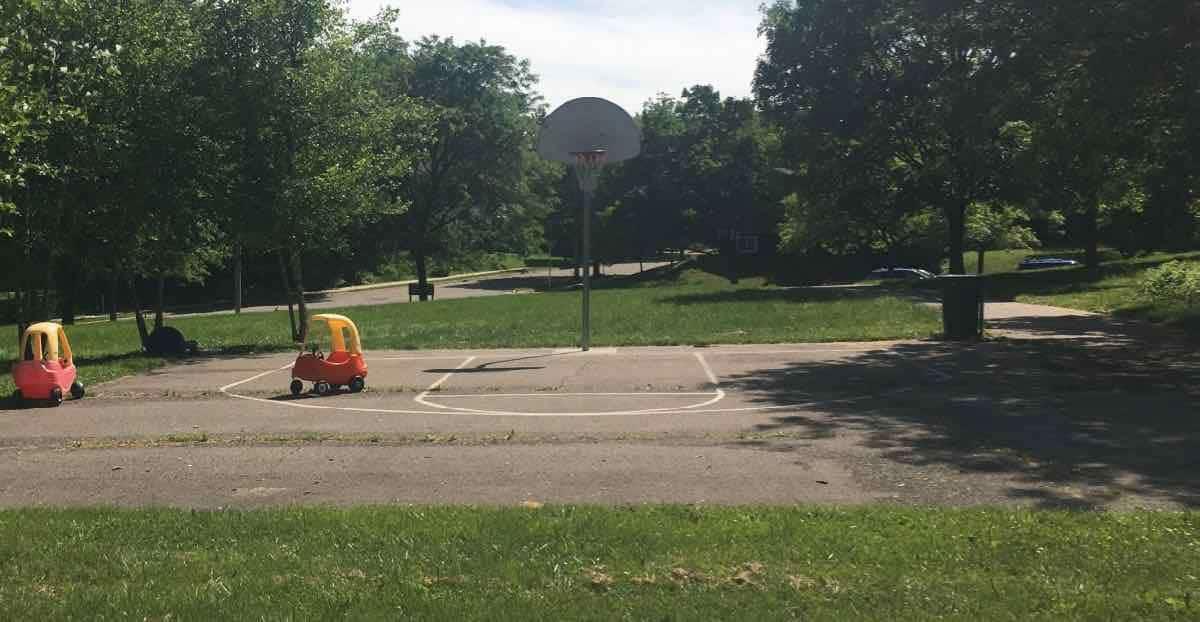Ann Arbor Winewood Thaler Playground Profile - Basketball Court