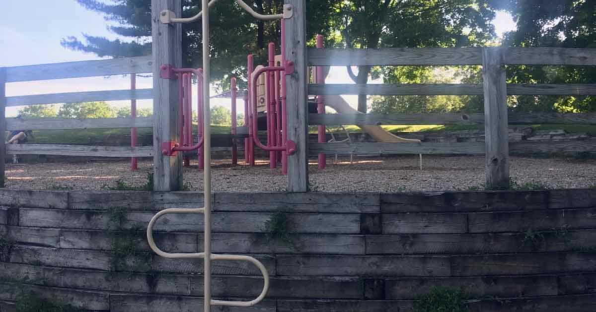 Ann Arbor's Clinton Park - Climber to Structure