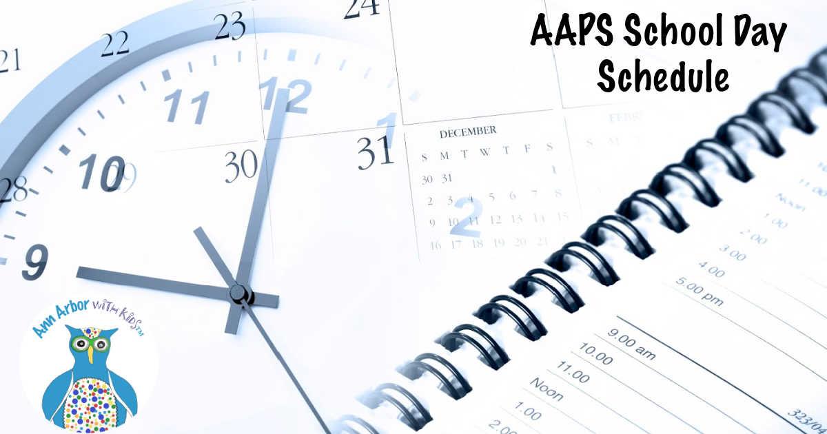 AAPS School Day Schedule