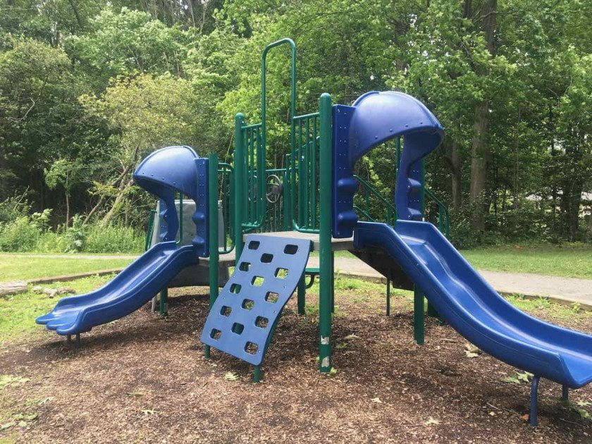 Ann Arbor's Fritz Park Playground Profile - Structure
