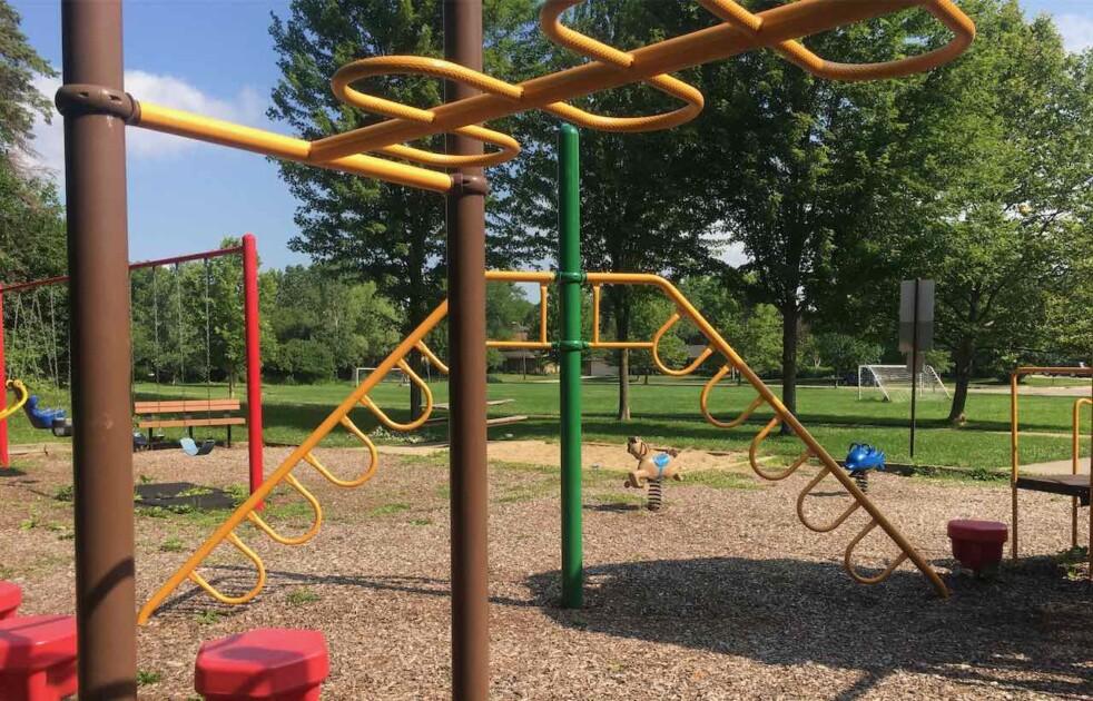 Ann Arbor Lansdowne Park - Climbing