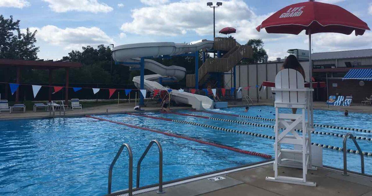 Ann Arbor Pools - Veterans Pool Main Pool Area