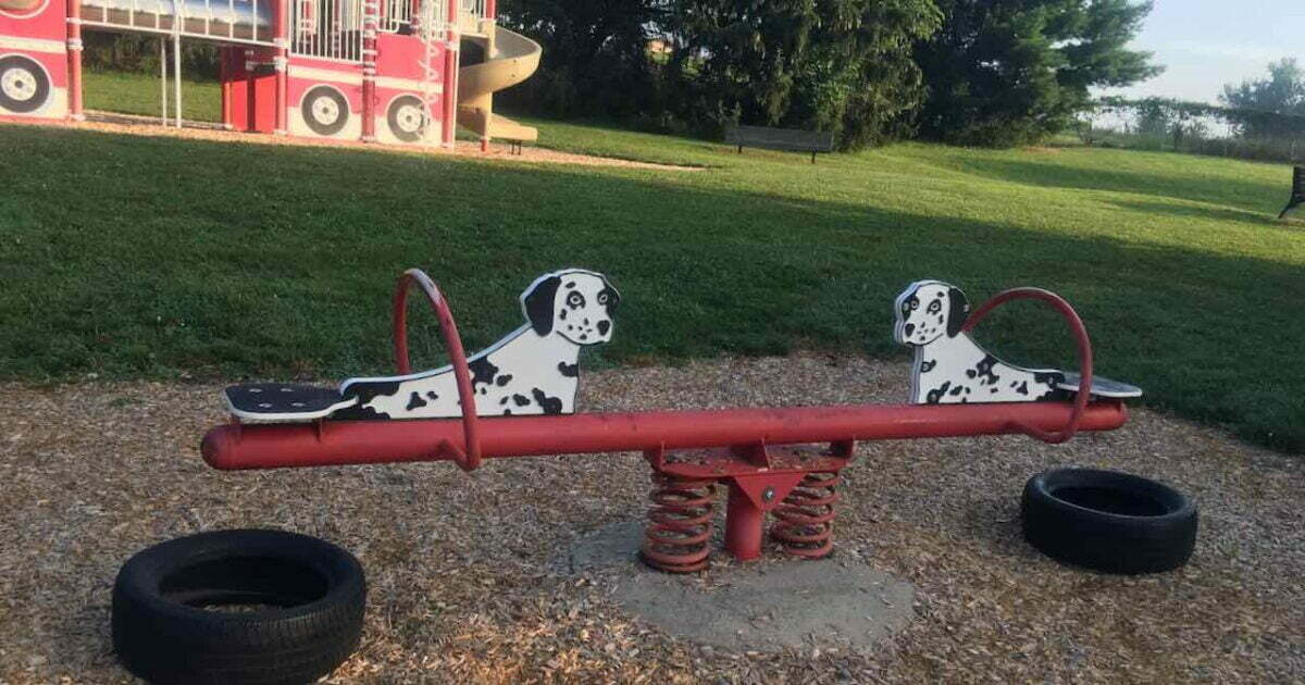 Chi-Bro Park Dalmatian See Saw