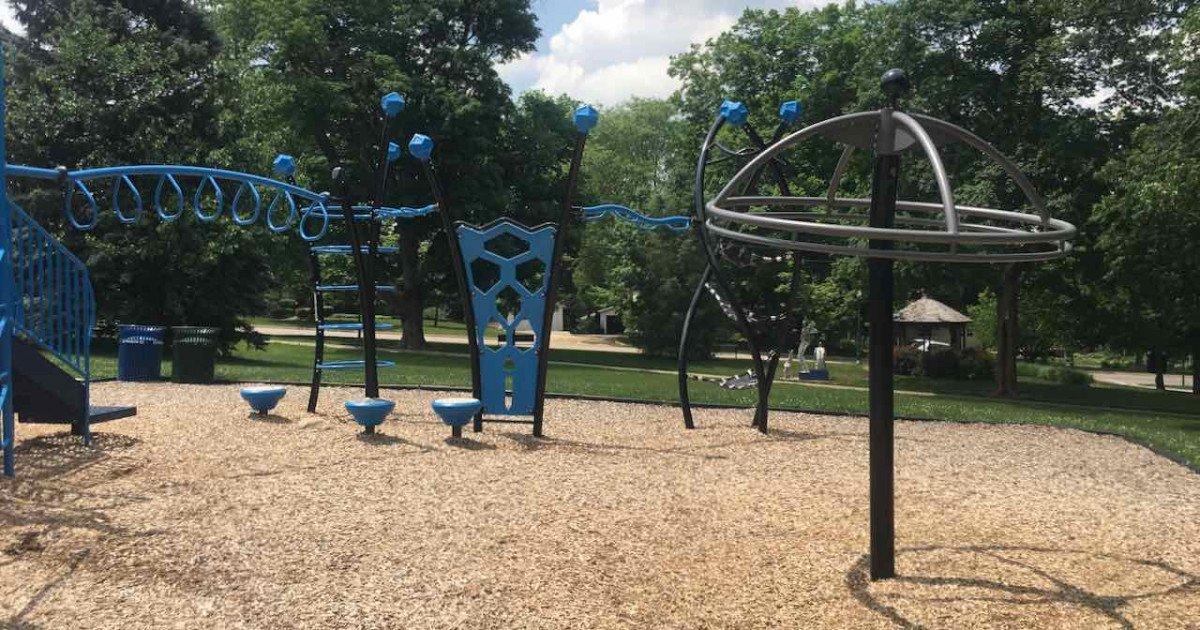 Dexter's Lions Playground - Umbrella & Climbers
