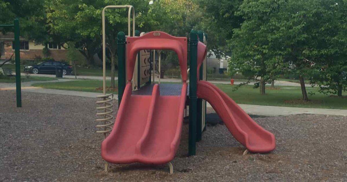 Huron Highlands Playground - Slide Structure