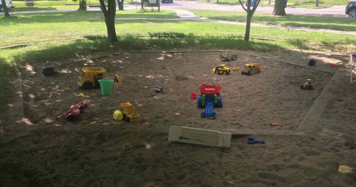 Wellington Park Sandbox