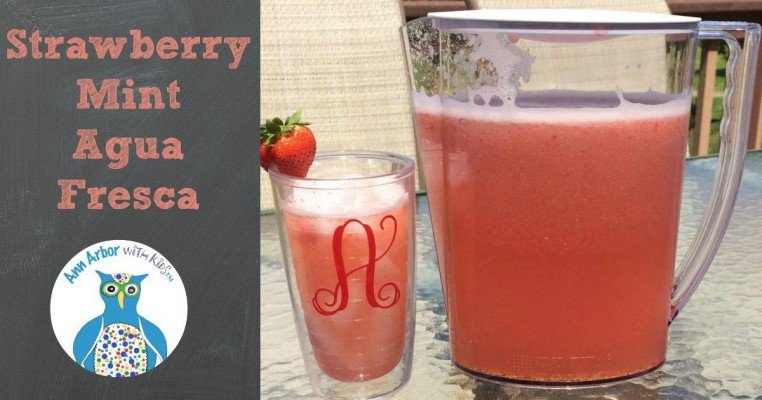 Strawberry Mint Agua Fresca