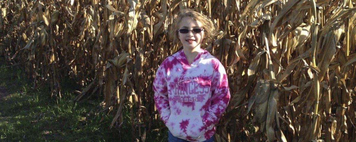 Outside Corn Maze at Talladay Farms Corn Maze