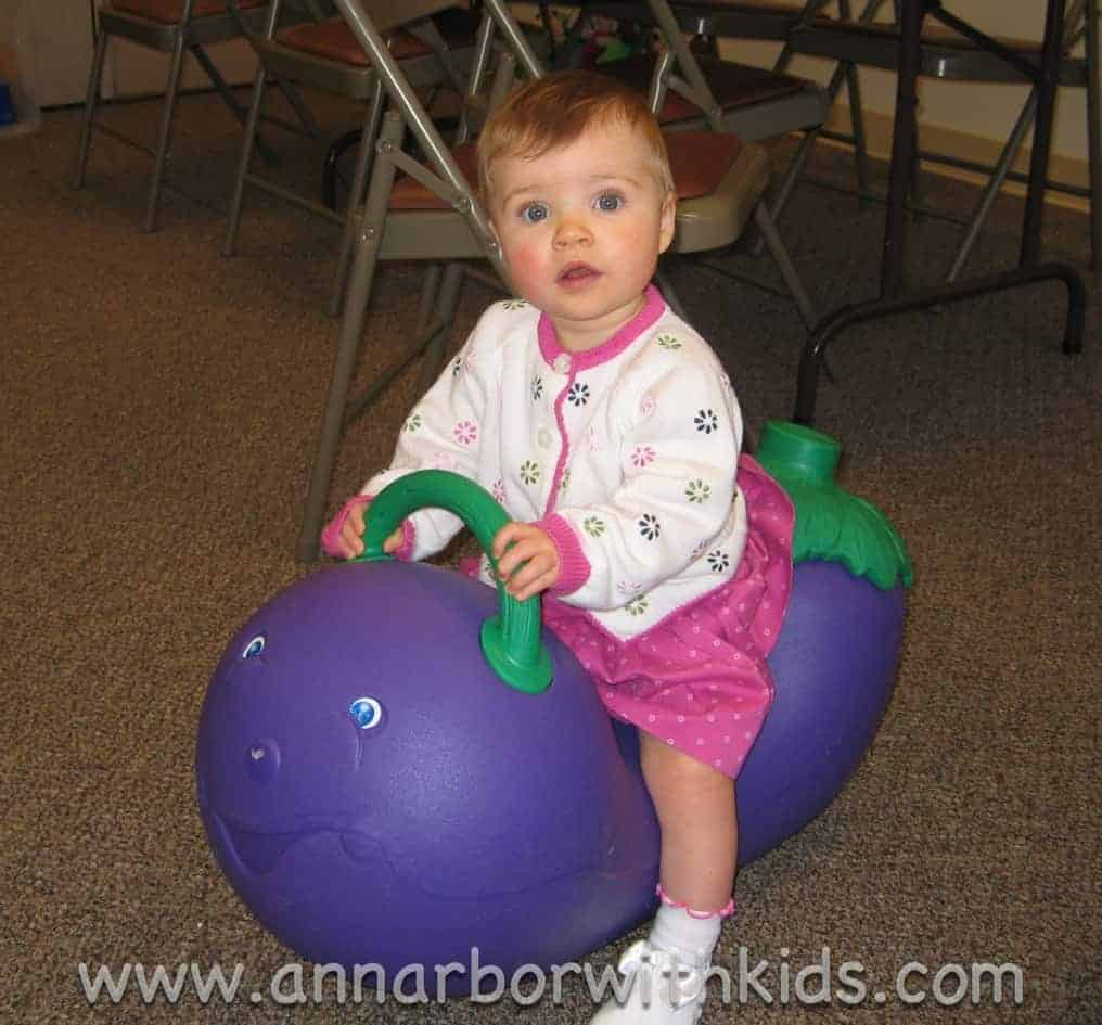 Eggplant Rocker at Baby Playgroup