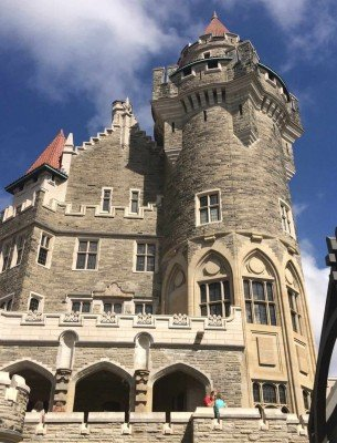 Scottish Tower at Casa Loma