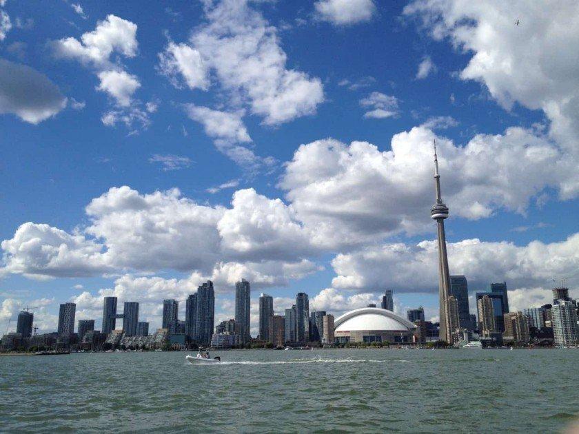 Toronto Trip City View