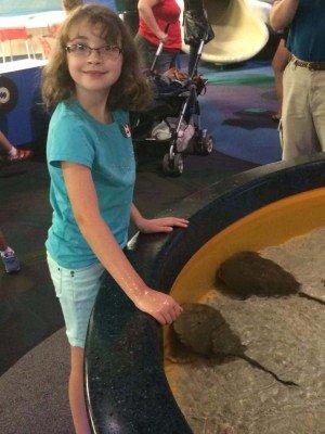 Toronto Trip - Ripley's Aquarium of Canada - Touch Tank Rays
