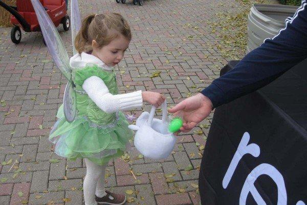 Trick or Treating at Pumpkin Path at Toledo Zoo