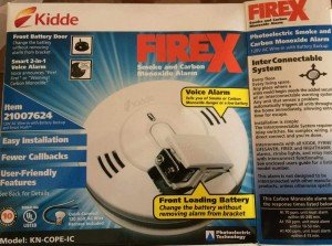 Our new CO/Smoke Detector