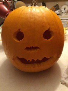Pumpkin Carving Tip - Cookie Cutter Eyes & Nose