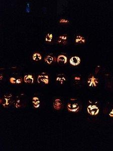 Jack O Lanterns at Hallowe'en in Greenfield Village