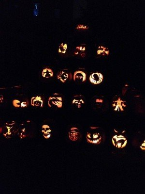 Jack O Lanterns at Hallowe'en at Greenfield Village