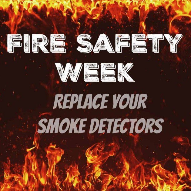 Fire Prevention - Replace Your Smoke Detectors