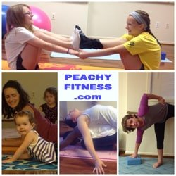 Peachy Fitness Square