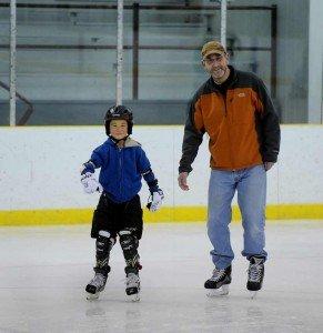 Frosty on Ice