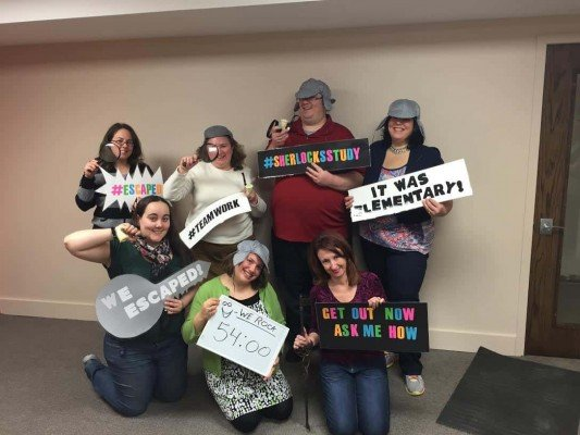 We Escaped! The Great Escape Room