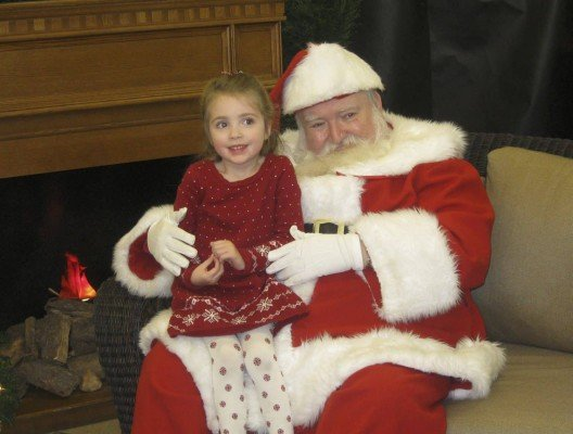Santa Claus at English Gardens in 2010