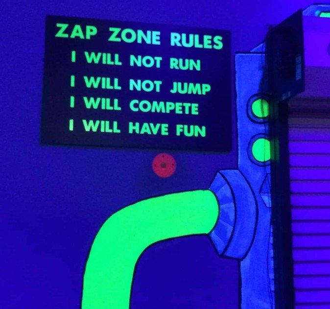 Zap Zone Birthday Party