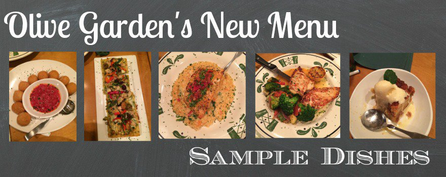 Olive Garden Menu Updates January 2015