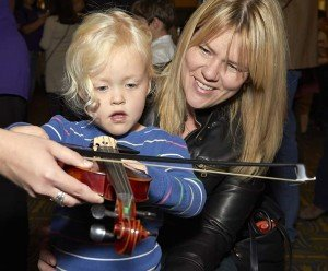 Ann Arbor Symphony Orchestra Instrument Petting Zoo Violin