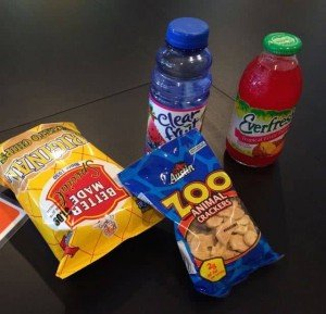 3&Up Board Game Lounge Snacks