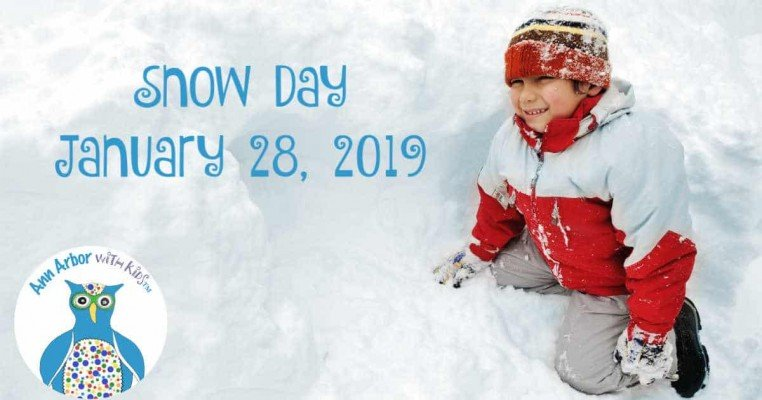 Ann Arbor Snow Day - January 28
