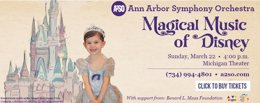 Ann Arbor Symphony Orchestra Magical Music of Disney
