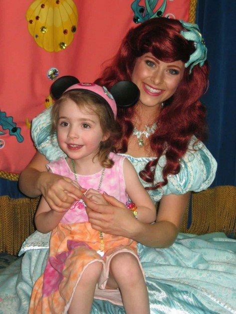 TBT Disneyland Ariel's Grotto