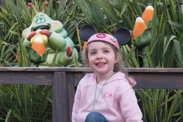 Disneyland Posing with Heimlich