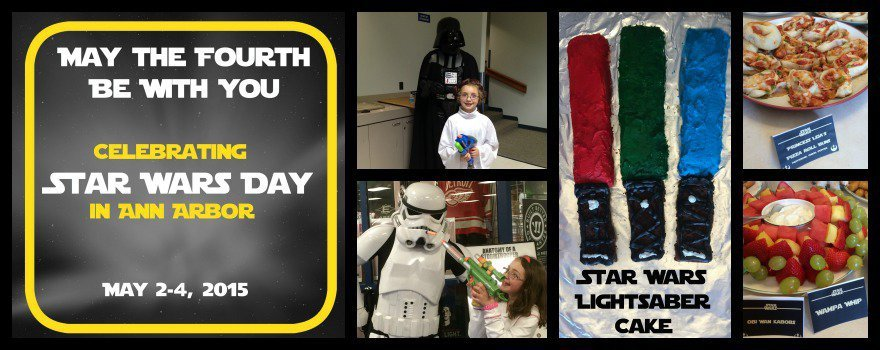 Celebrate Star Wars Day in Ann Arbor