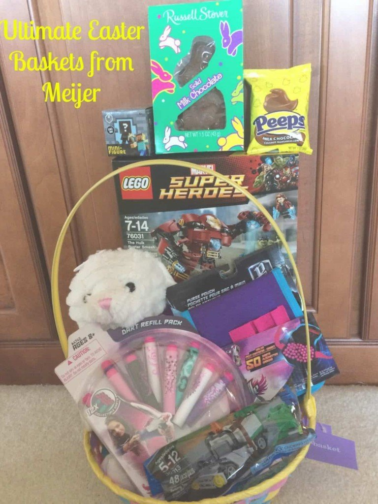 Meijer Ultimate Easter Basket for my Tween