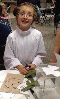 AADL Star Wars Reads Day 2013 Yoda Craft