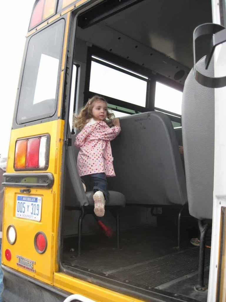 Exploring a School Bus in 2009