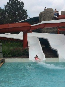 Autism Swim Day at Rolling Hills Water Park - Slides