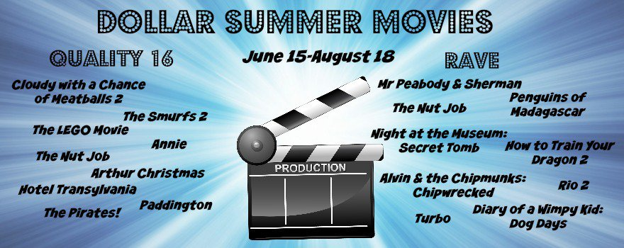 Dollar Summer Movies