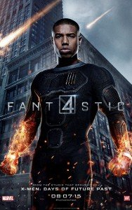 Fantastic Four Character Poster - Johnny Storm