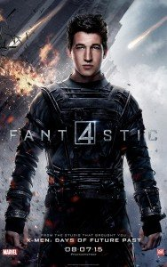 Fantastic Four Character Poster - Reed Richards