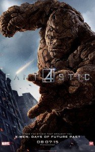 Fantastic Four Character Poster - Thing