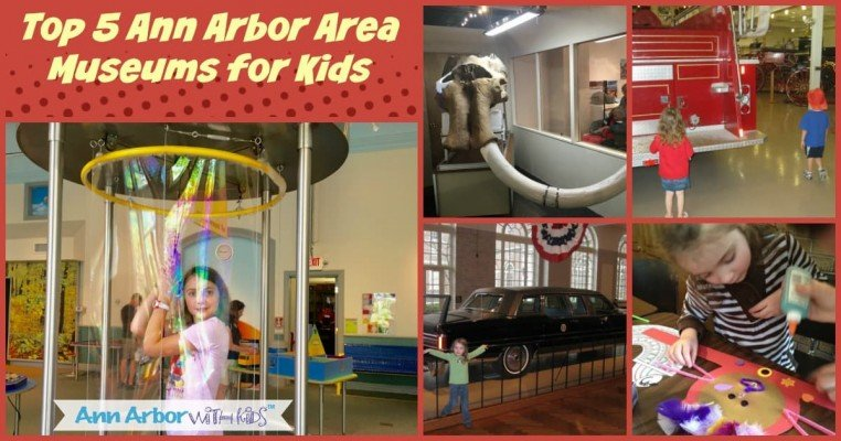 Top 5 Ann Arbor Area Museums for Kids